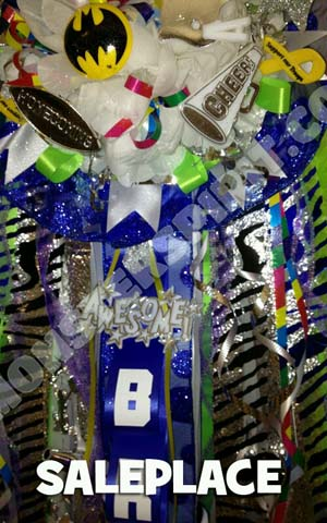 Crazy Homecoming Mum