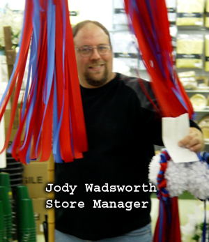 Jody Wadsworth Saleplace Manager
