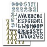 Stickers - Retro Fonts